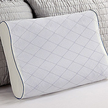 Sealy Posturepedic Cooling Gel & Memory Foam Contour Pillow