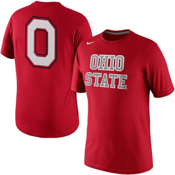 Nike Ohio State Buckeyes Hyper Elite Uniform Hook T-Shirt - Scarlet