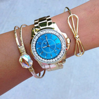 Brenna Blue Stack