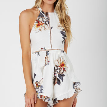 By The Flower Romper