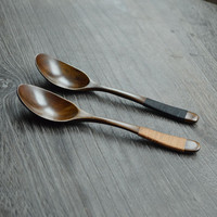 Japanese Coffee Wooden Spoon 2pcs/pack