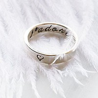 Emily Jane Jewelry Womens J'adore Ring