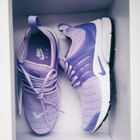 Nike Air Presto Lavender Woman Personality Sport Running Shoes Sneakers