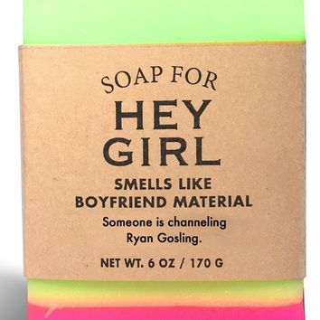 Hey Girl Green Appletini Scented Soap - Smells Like Boyfriend Material