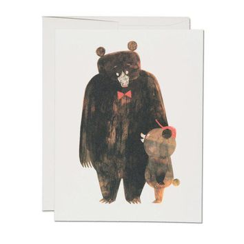 RED CAP CARDS DADDY BEAR CARD