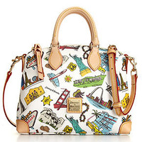 Dooney & Bourke Handbag, Americana Crossbody Satchel - Satchels - Handbags & Accessories - Macy's