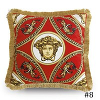 Versace 2018 new street fashion hipster living room sofa pillow F0933-1 #8