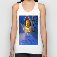 MERRY CHRISTMAS Unisex Tank Top by Acus