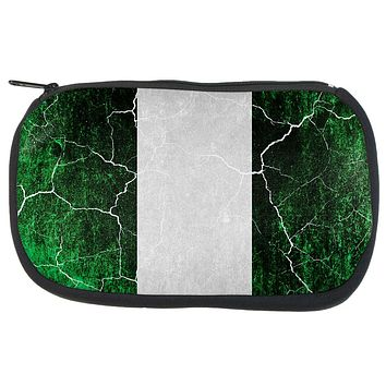 Distressed Grunge Flag of Nigeria Travel Bag