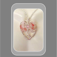 Breast Cancer Awareness tree of life,Cancer survivor jewelry,Breast Cancer Awareness Necklace,Breast cancer jewelry, pink ribbon,Pink ribbon