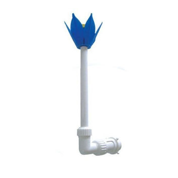 Adjustable Blue, White and Yellow Flower Fountain for Swimming Pool and Spa