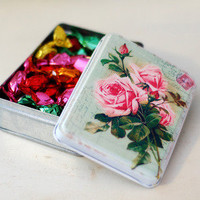 Vintage Rose Tin — Dear Blackbird Homewares