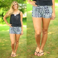 Wild As The Wind Patterned Shorts