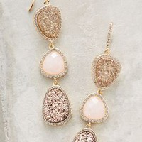Melanie Auld Coloratura Druzy Drops in Rose Size: One Size Earrings
