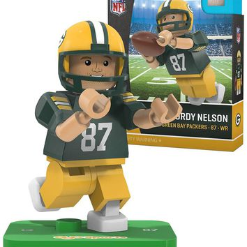 Green Bay Packers JORDY NELSON Limited Edition OYO Minifigure