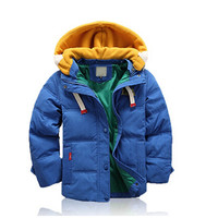 Children Jackets For Boys Girls Winter White Duck Down Jacket Coats Kids Hooded Parkas Child Coat free shipping