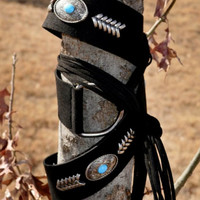 Cadillac Concho Belt by Crazy Train