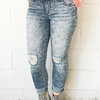 Kut From Kloth Amy Crop Straight Jeans