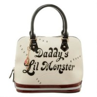 Suicide Squad Harley Quinn Daddy's Lil Monster Dome Bag |