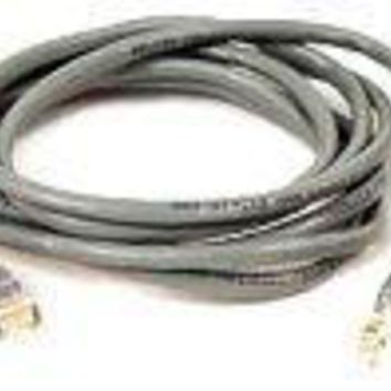 Belkin Components 15ft Cat5e Patch Cable, Utp, Gray Pvc Jacket, 24awg, T568b, 50 Micron, Gold Plat