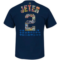 New York Yankees Adult Derek Jeter Final Season World Series Logo T-Shirt