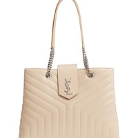 Saint Laurent Large Loulou Matelassé Leather Shopper | Nordstrom
