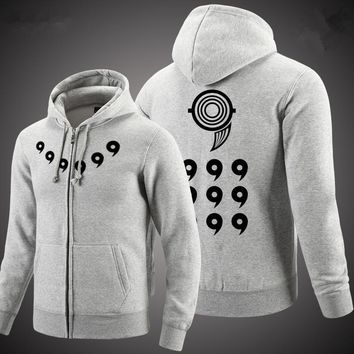 Men Women Anime Coat NARUTO Ootutuki Hagoromo Cosplay Jacket Hoodie Clothing Casual