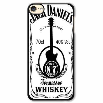 Jack Daniels White iPod Touch 6 Case