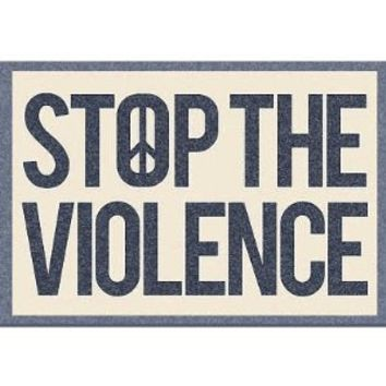 (13x19) Stop the Violence Art Print Poster