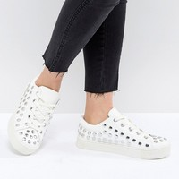 Monki Stud Detail Trainer at asos.com