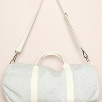 Grey Duffle Bag - Bags & Backpacks - Accessories