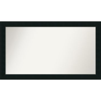 Wall Mirror Choose Your Custom Size - Oversize, Corvino Black Wood | Overstock.com Shopping - The Best Deals on Mirrors