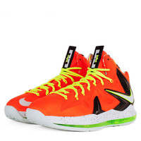 Nike - Mens Shoes - Basketball - Nike Lebron X PS Elite - Black Total Crimson - DTLR -  Down Town Locker Room. Your Fashion, Your Lifestyle! Shop Sneakers, Boots, Basketball shoes and more from Nike, Jordan, Timberland and New Balance