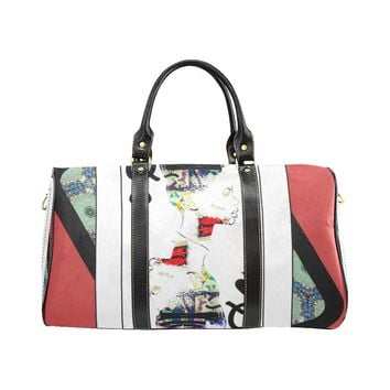 Play Your Hand...Queen Spade No. 1 Small Duffel Bag