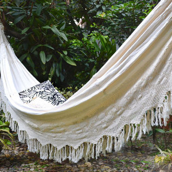 Wayuu Hammock, Trigo luxurious meaningful, boho, traditional, double hammock, free shipping USA