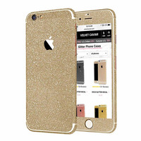 GOLD GLITTER DECAL