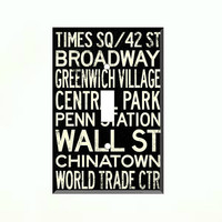 Light Switch Cover - Light Switch New York City Words