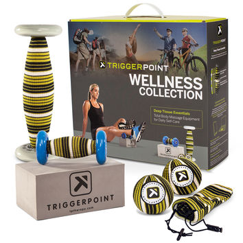 Wellness Collection for Total Body Deep Tissue Self-Massage Kit