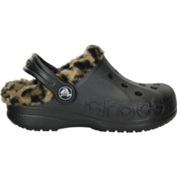 Academy - Crocs™ Women's Baya Leopard Lined Clogs