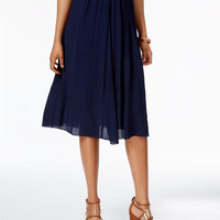 NY Collection Pull-On A-Line Skirt   macys.com