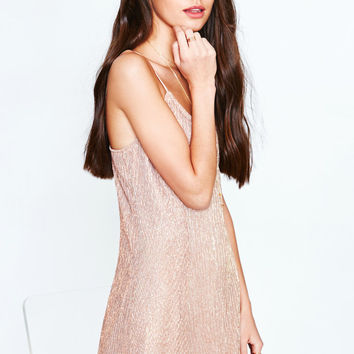 Kendall and Kylie Metallic Mini Dress at PacSun.com