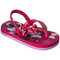 Toddler Girl's Minnie Mouse Sandals - Red
