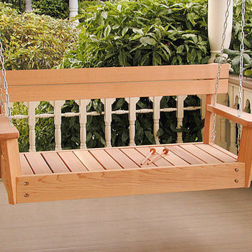 Porch Swing with a musical wooden xylophone, swing or play-