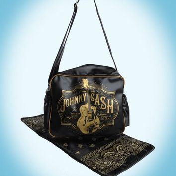 Johnny Cash Diaper Bag | Pinup Girl Clothing