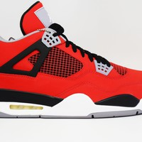 Air Jordan 4 Retro Toro Bravo Basketball Shoes <>