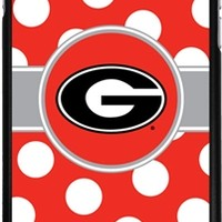 Georgia Bulldogs iPhone 6 Plus Polka Dot Thinshield Case