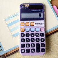 Calculator Look Phone Case For iPhone 7 7Plus 6 6s Plus 5 5s SE