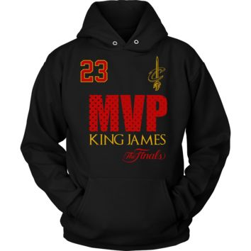 Cleveland Cavaliers 2016 NBA Champions - #23 Lebron James 2016 NBA Finals MVP - Hoodie - Free Shipping