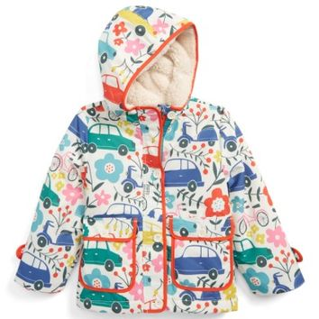 Mini Boden Shower-Resistant Hooded Anorak (Toddler Girls, Little Girls & Big Girls) | Nordstrom
