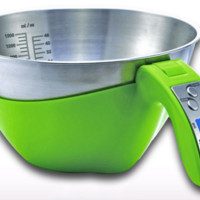 Digital Measuring Cup Bowl Scale 1.5L 5Kg